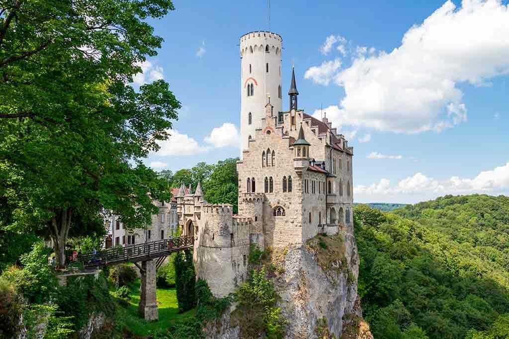 Best German Castles Lichtenstein-Castle