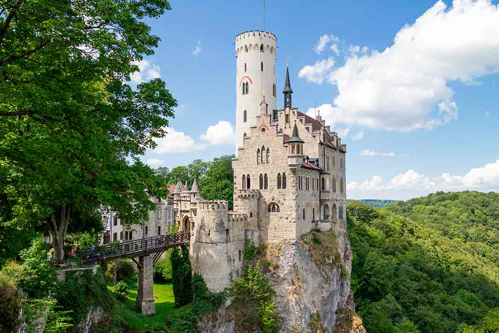 Best German Castles Lichtenstein-Castle