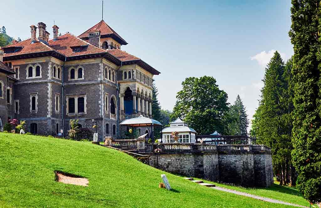 Romanian Castles Cantacuzino-Castle Cantacuzino-Castle