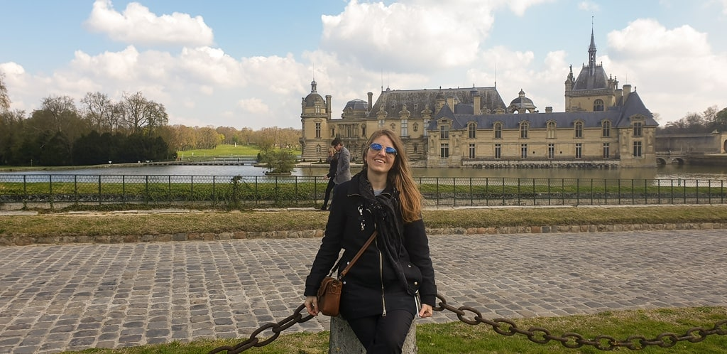 me at Chantilly Château