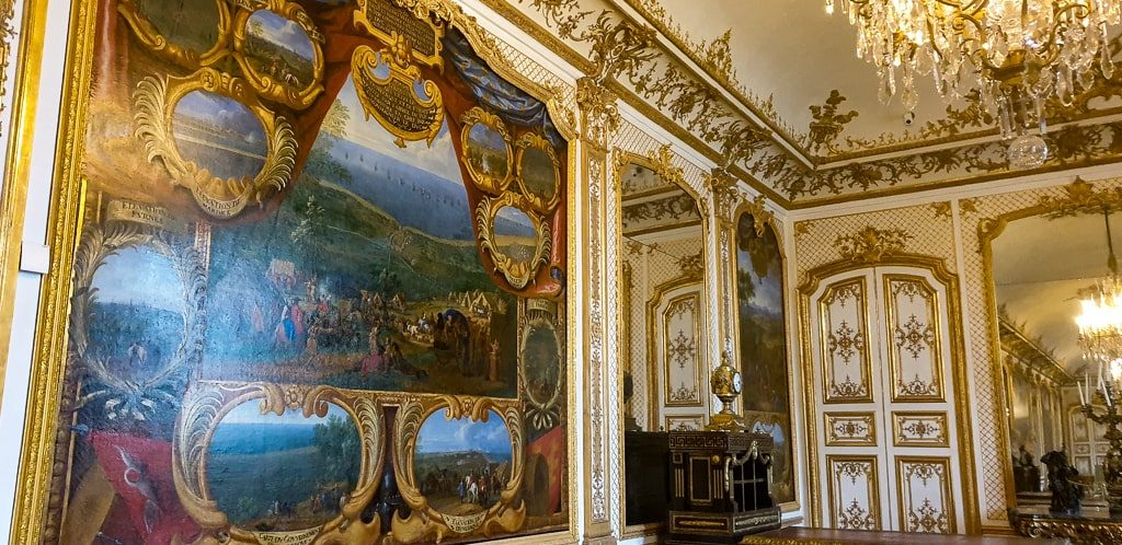 Chantilly Castle France - interior