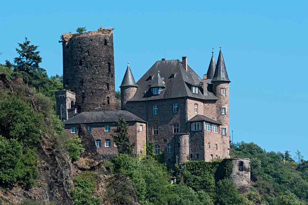 Best Castles in Germany Maus-Castle