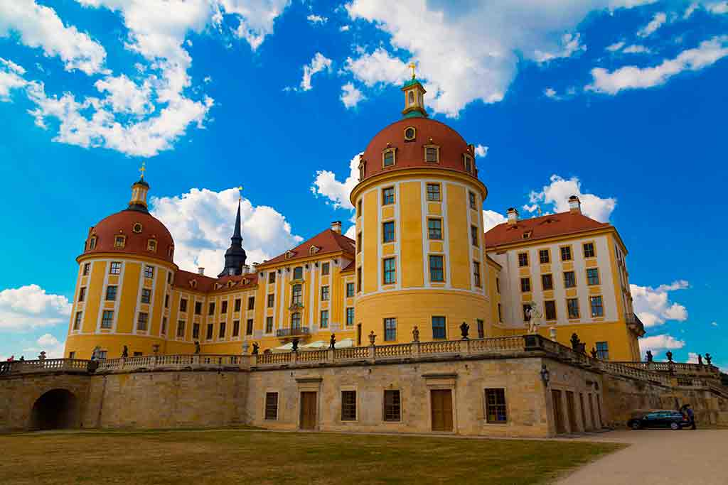 German Castles Moritzburg-Castle