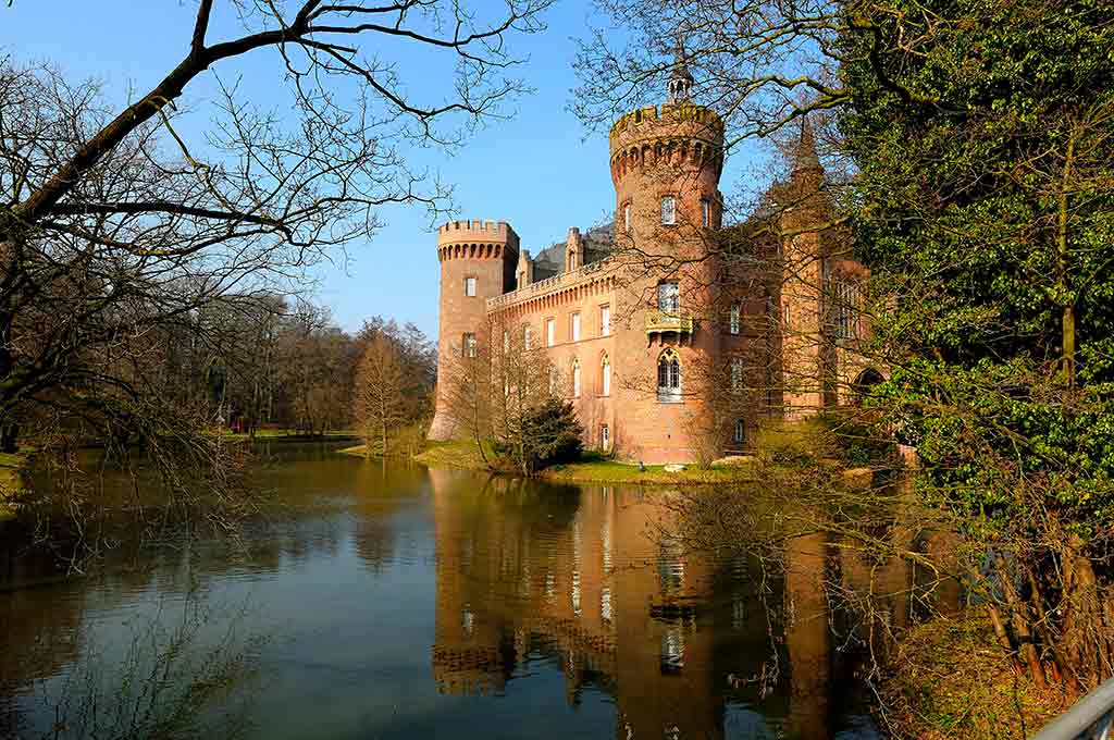 Famous Castles in Germany Moyland-Castle