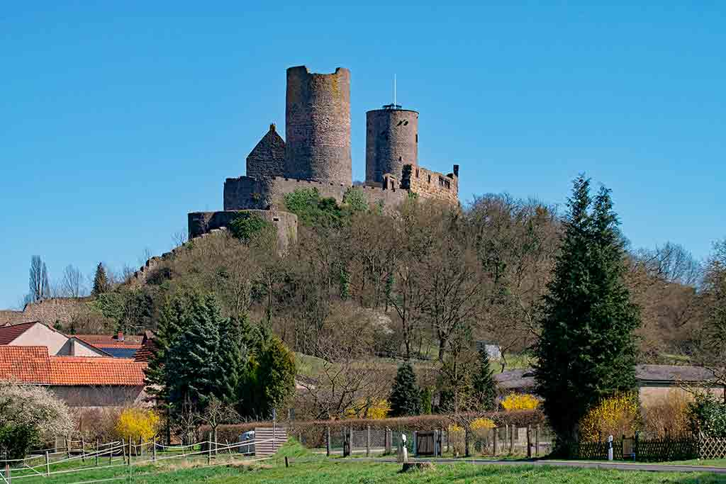 Best Castles in Germany Munzenberg-Castle