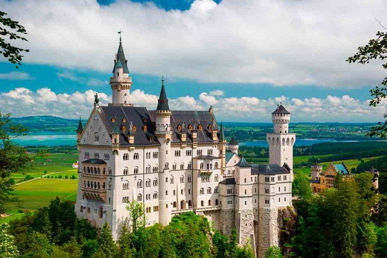 German Castles Neuschwanstein-Castle