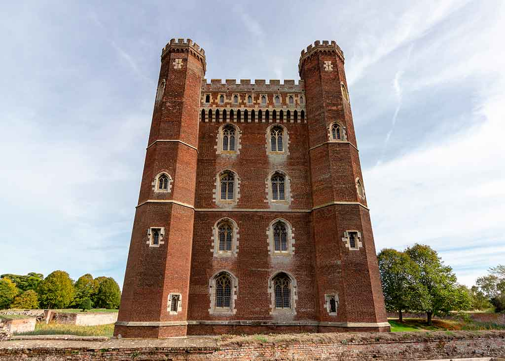 Castles in England Tattershall-Castle