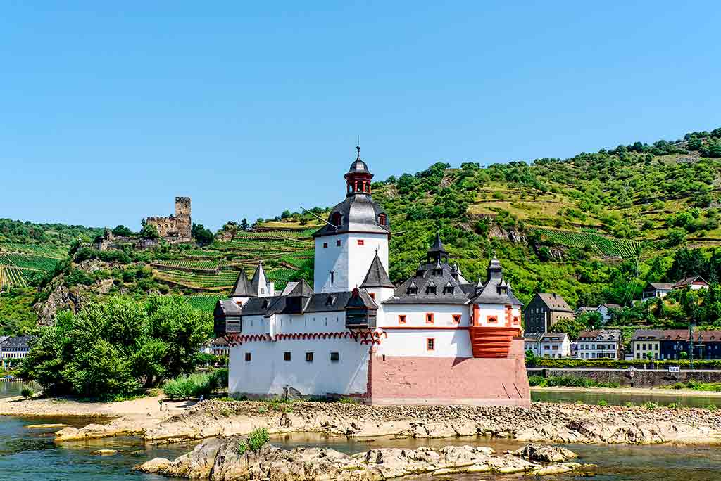 Castles in Germany Pfalzgrafenstein-Castle