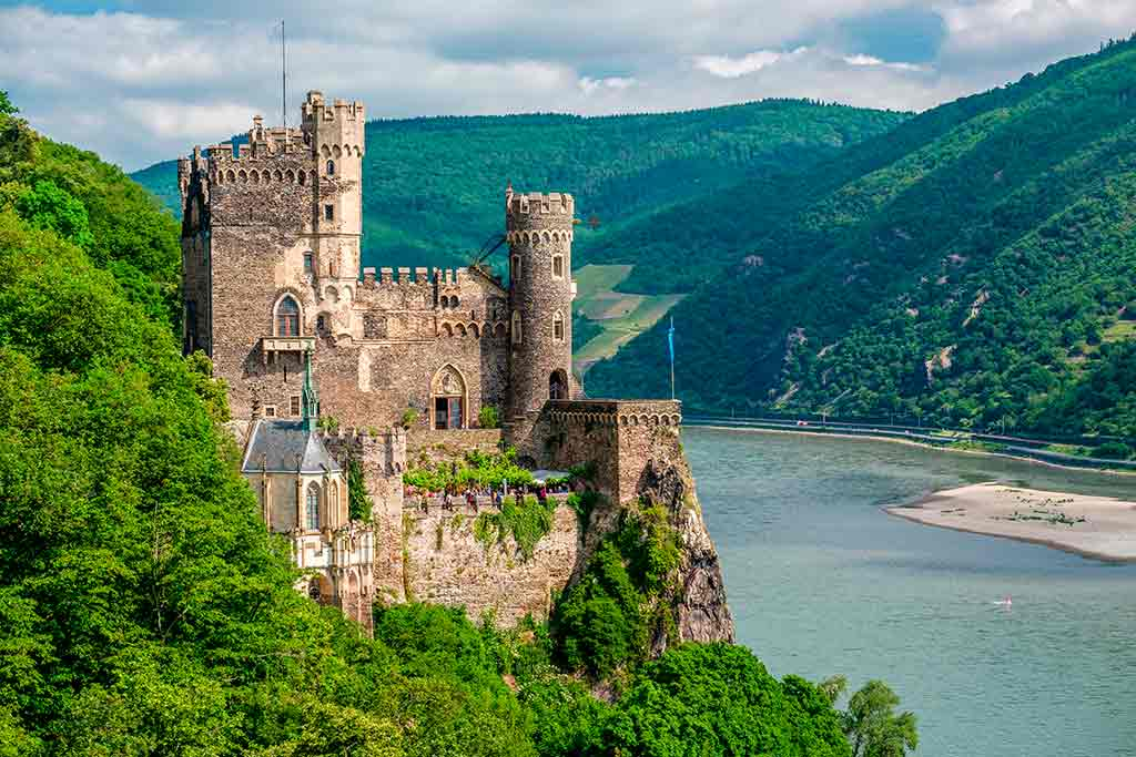 Best Castles in Germany Rheinstein-Castle