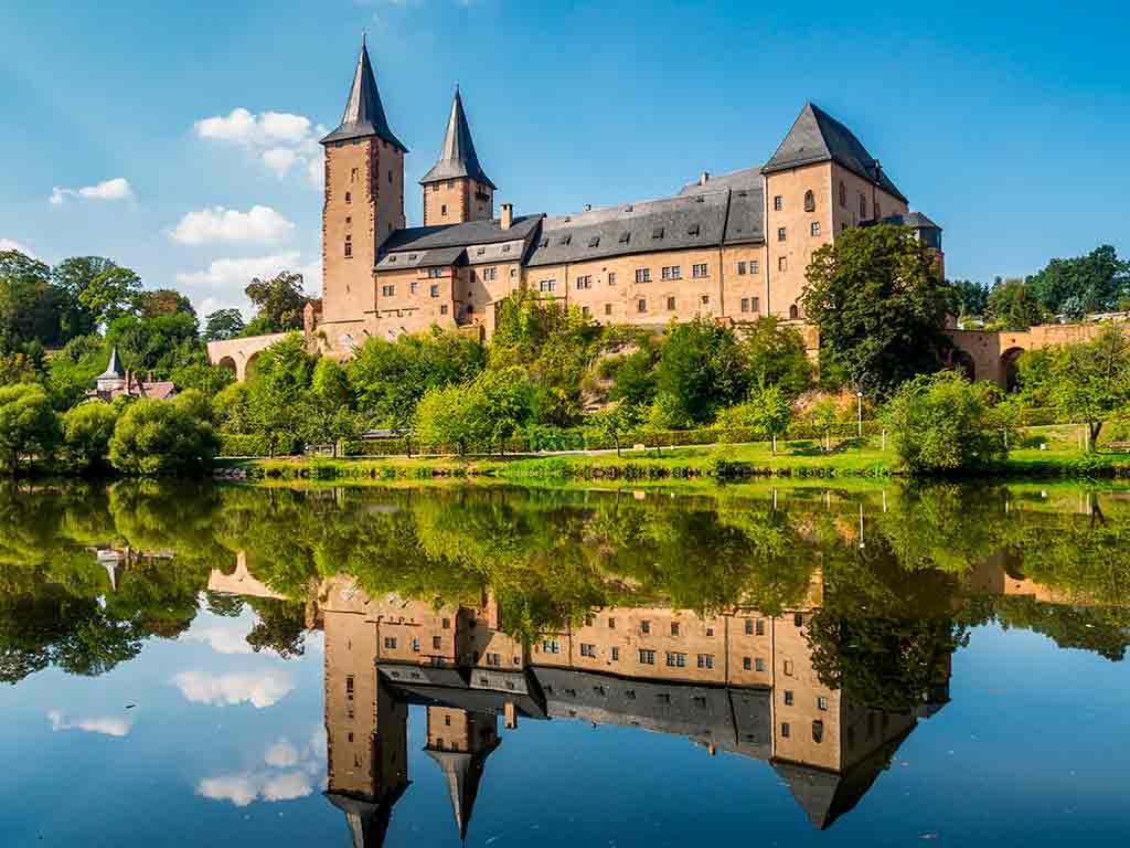 German Castles Rochlitz-Castle