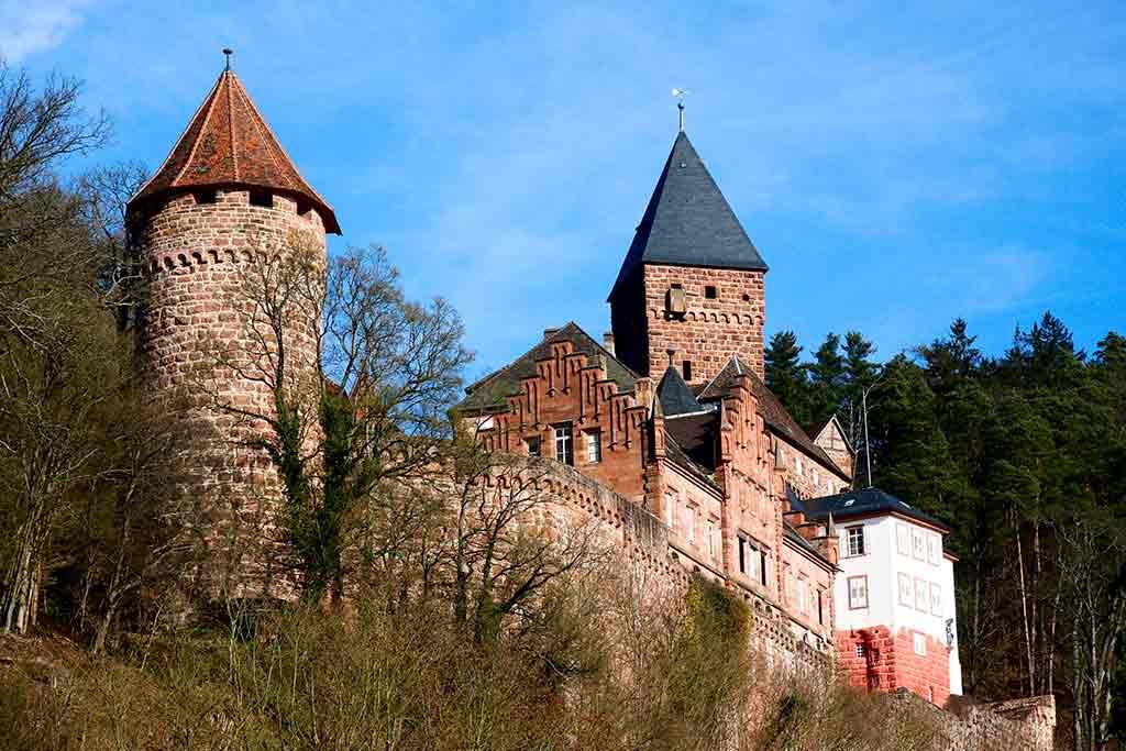 Ge rman Castles Zwingenberg-Castle