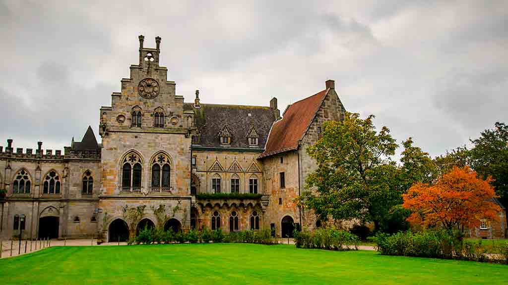 Famous Castles in Germany Bentheim-Castle