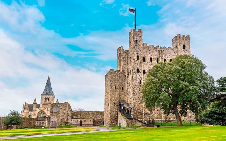 Best English Castles Rochester Castle
