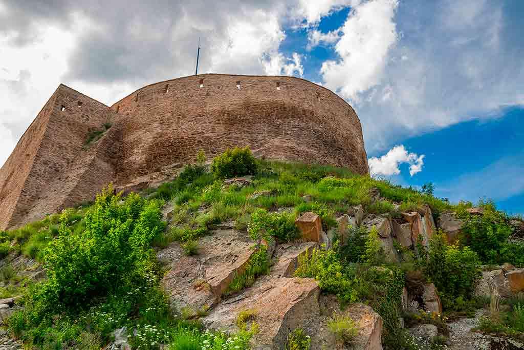 Romanian Castles Deva-Fortress