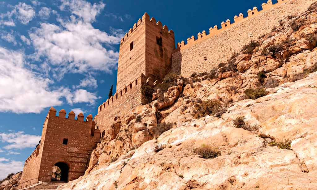 Castles in Spain Alcazaba-of-Almeria