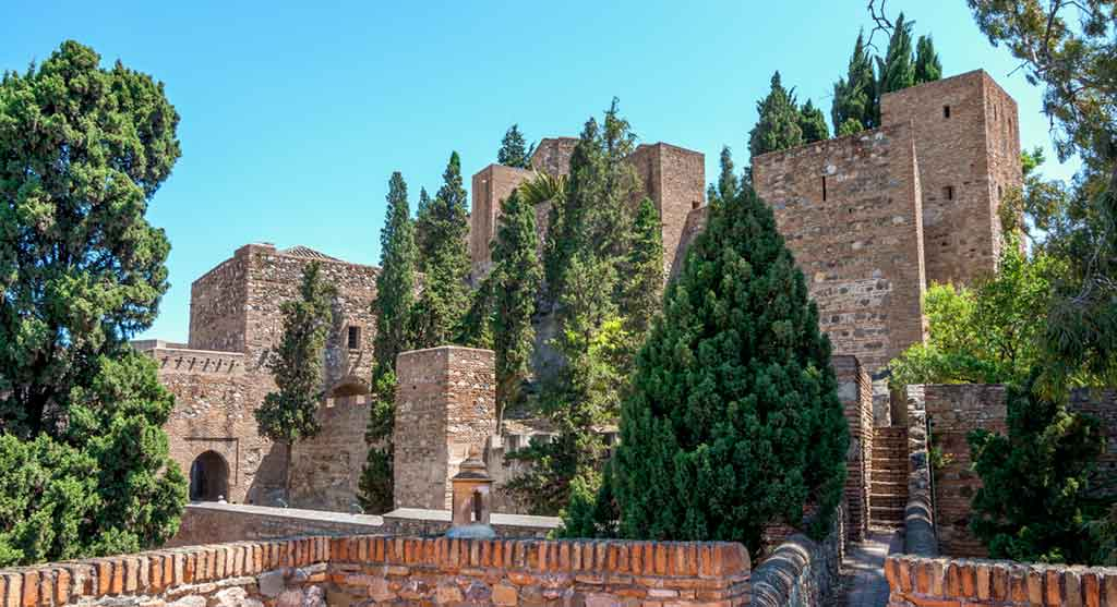 Castles in Spain Alcazaba-of-Malaga