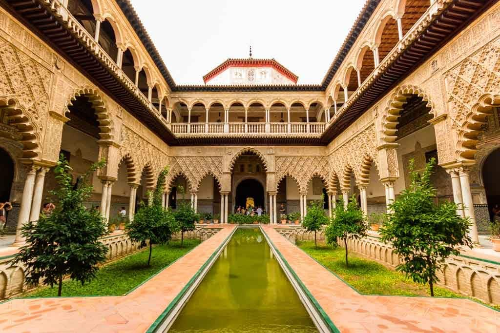 Spanish Castles Alcazar-of-Seville