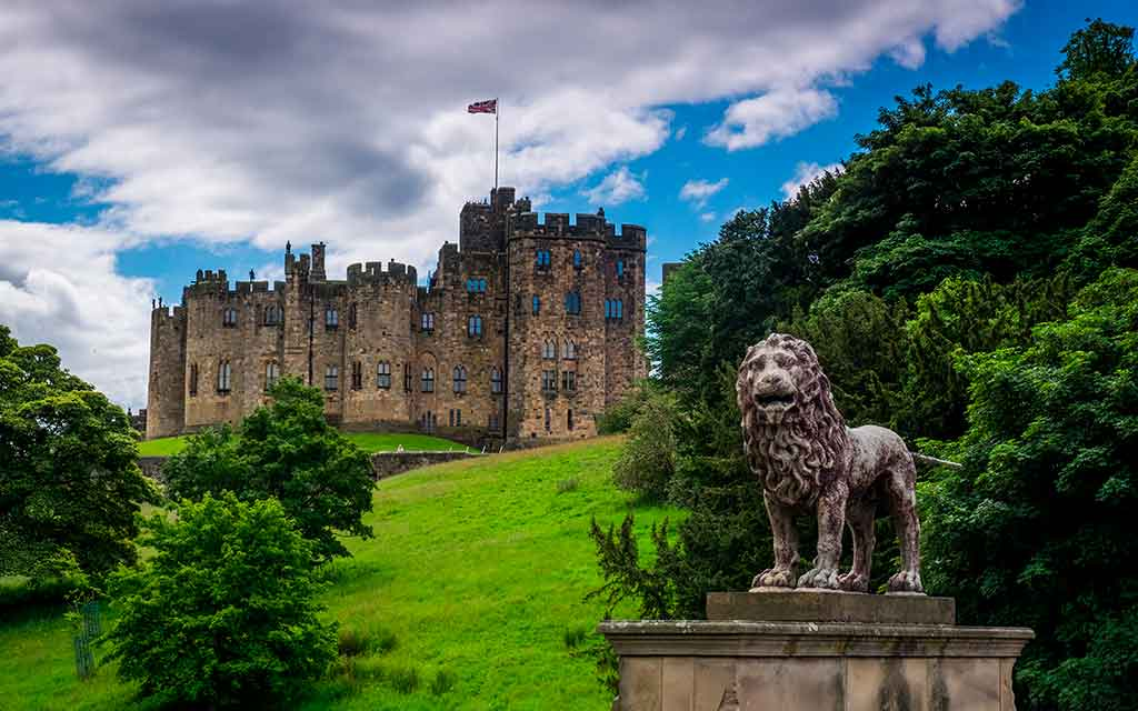 Best English Castles Alnwick Castle