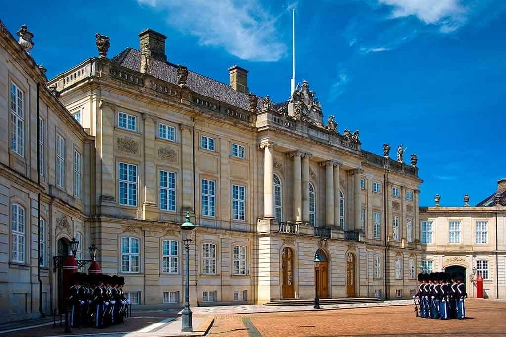 Castles in Denmark Amalienborg Palace