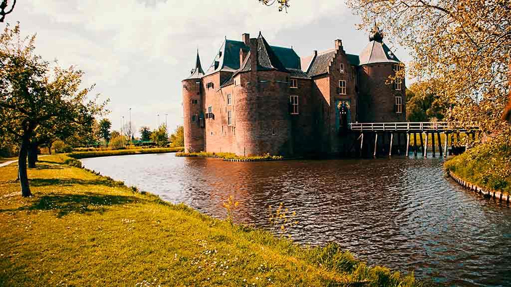 Famous Castles in Netherlands Ammersoyen-Castle