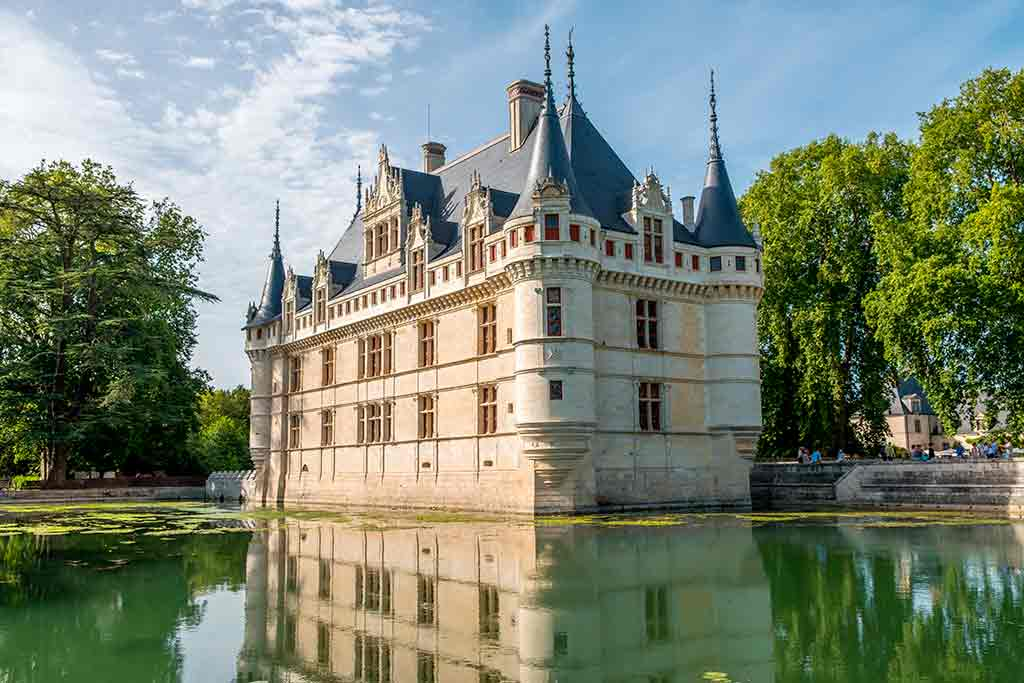 Best Castles in France Azay le Rideau
