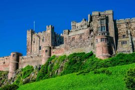 Castles in England Bamburgh Castle