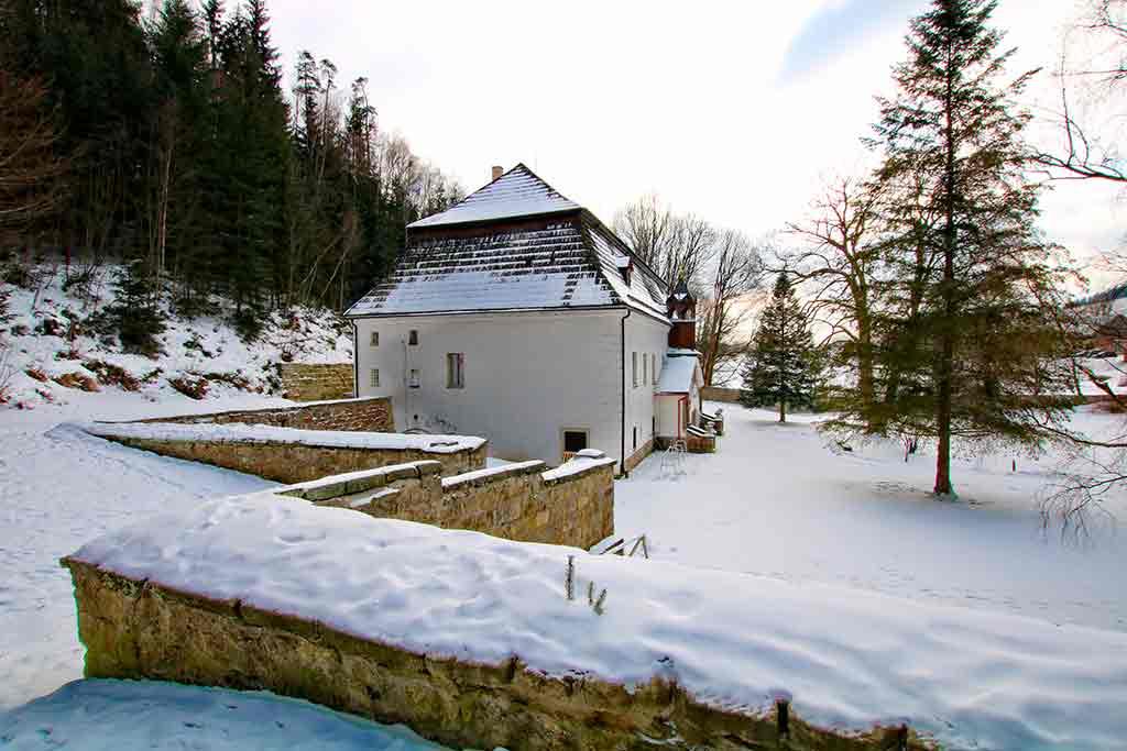 German Castles Bischofstein-Castle