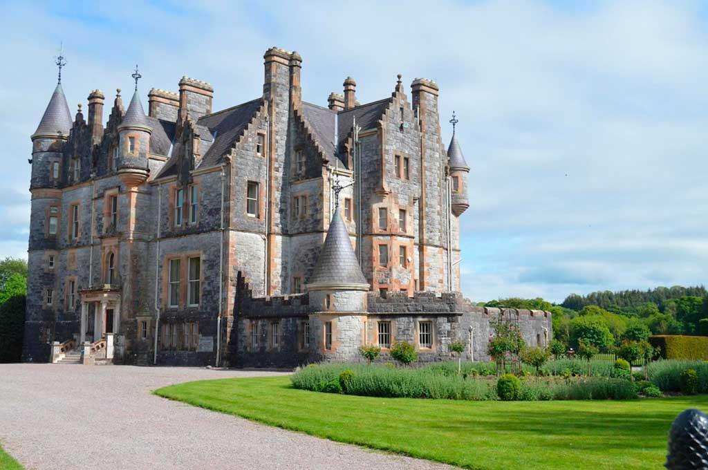 Castles in Ireland Blarney-Castle