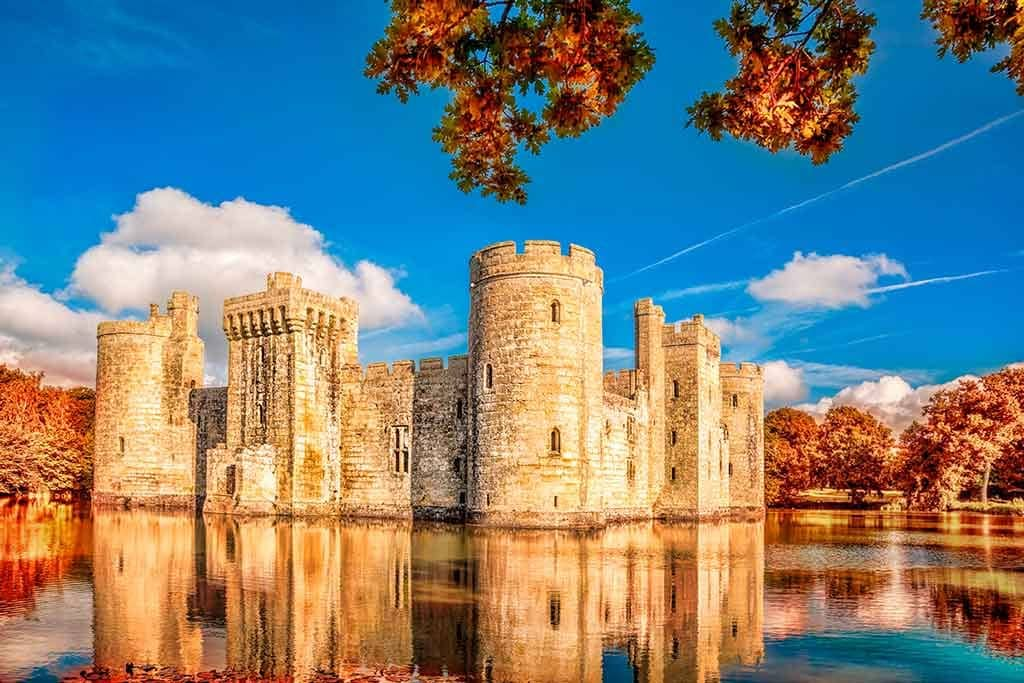 English Castles Bodiam castle