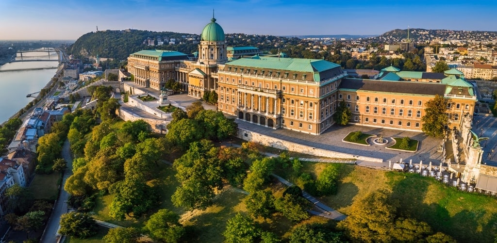 Buda castle Hungary - Best Castles in Europe