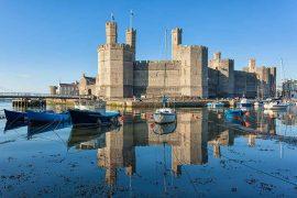 Welsh Castles Caernarfon-Castle