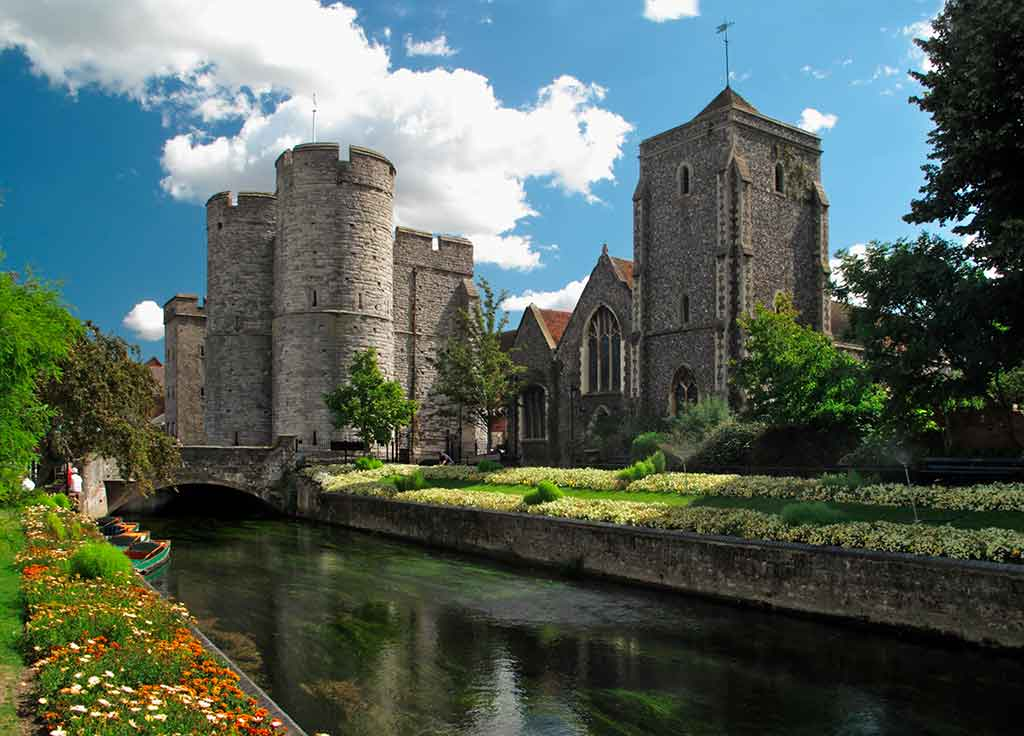 Castles in England Canterbury Castle