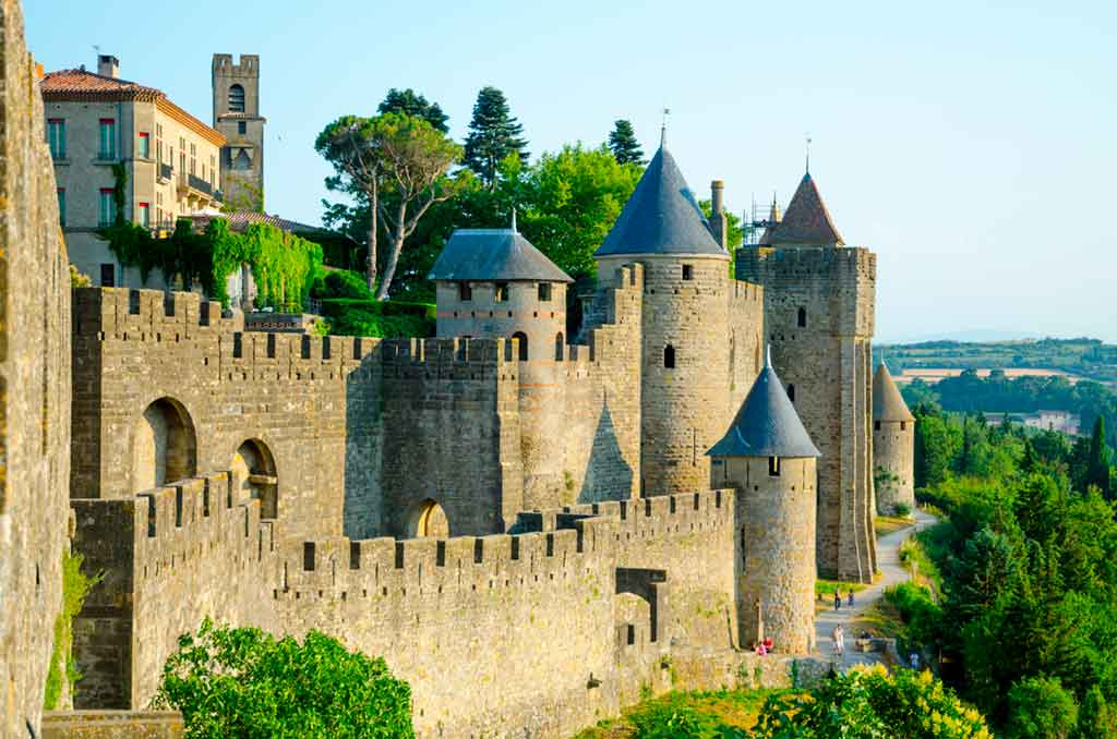 Best French Castes Carcassonne