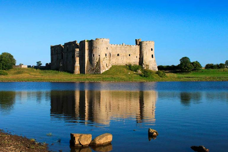 Castles in Wales Carew-Castle