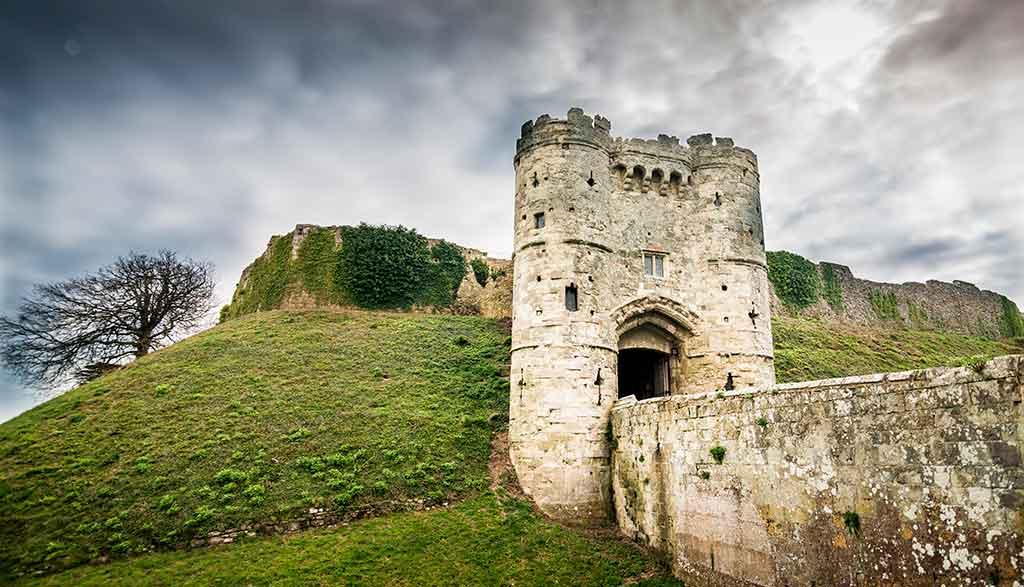 Best Castles in England Carisbrooke Castle