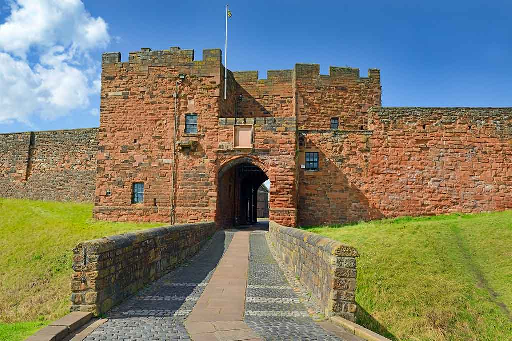 Castles in England Carlisle Castle