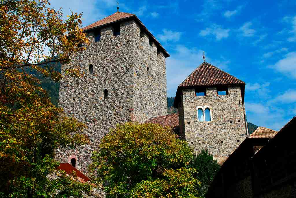 Famous Castles in Italy Castel-Tirolo