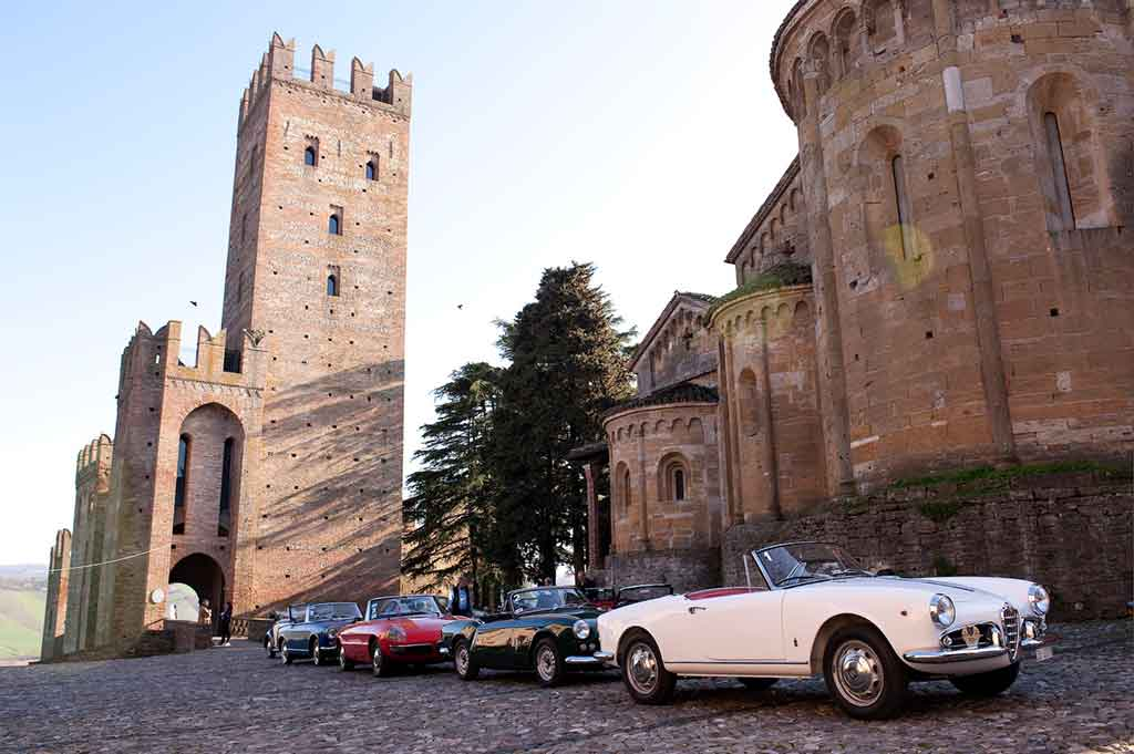 Famous Castles in Italy Castell'Arquato