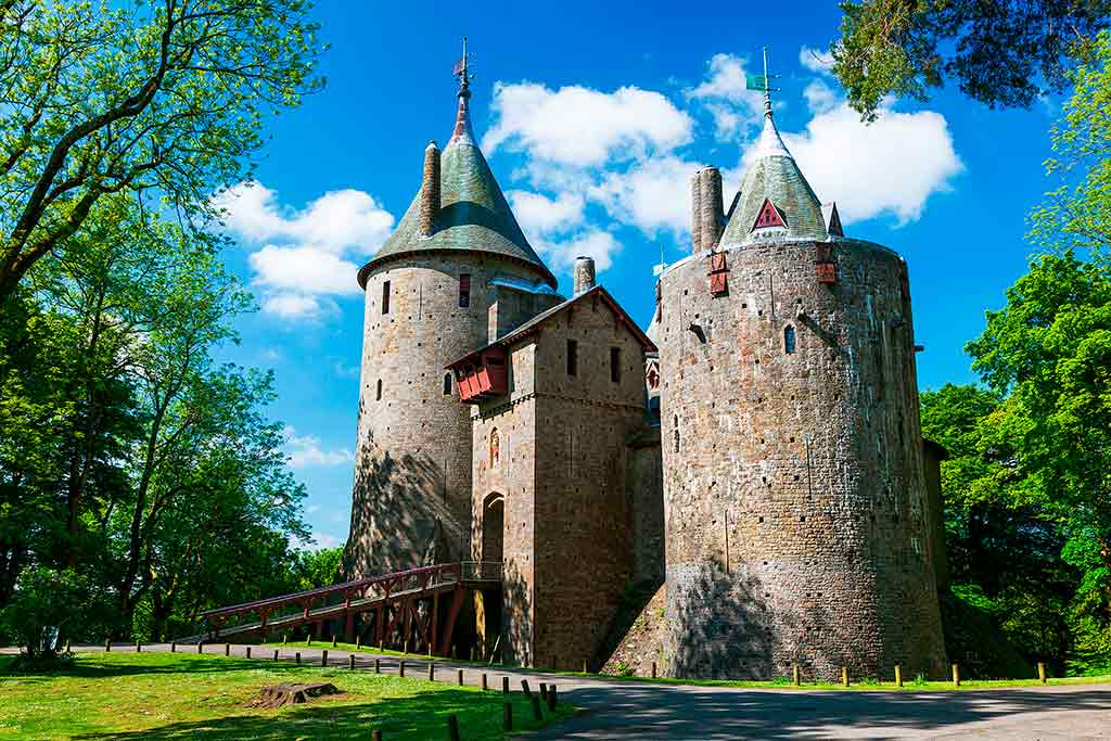 Best Castles in Wales Castell-Coch