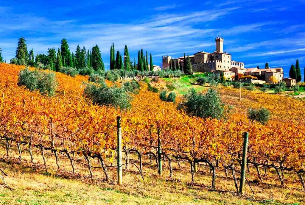 Best Italian Castles Castello-Banfi