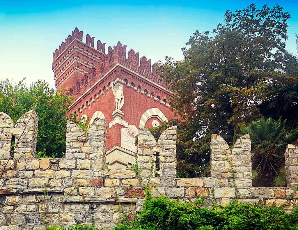 Italian Castles Castello-D'Albertis