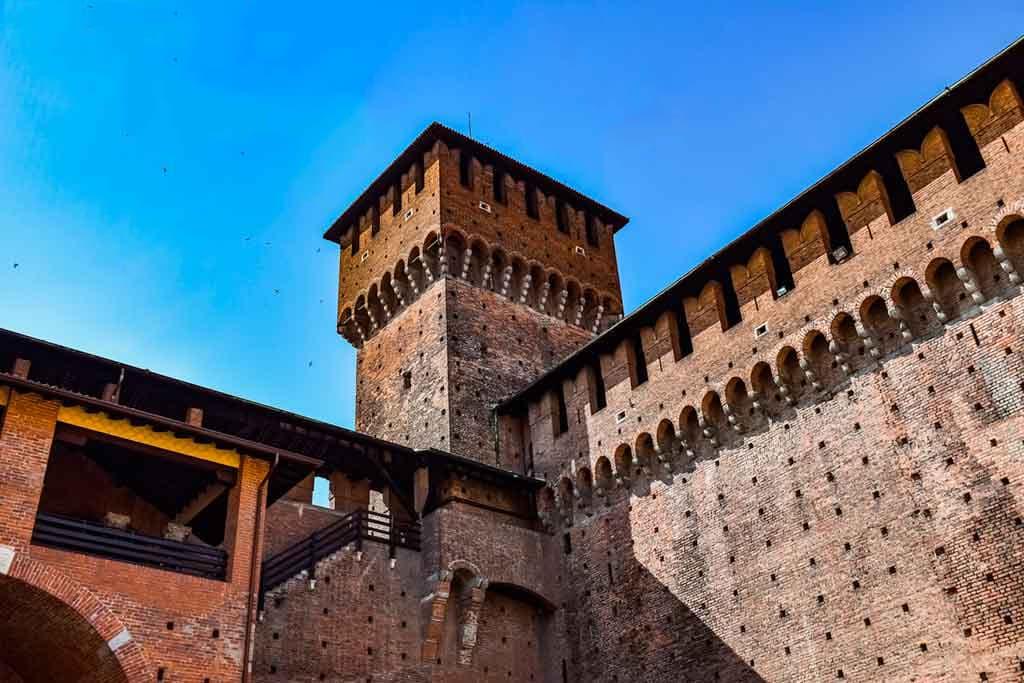 Best Italian Castles Castello Sforzesco