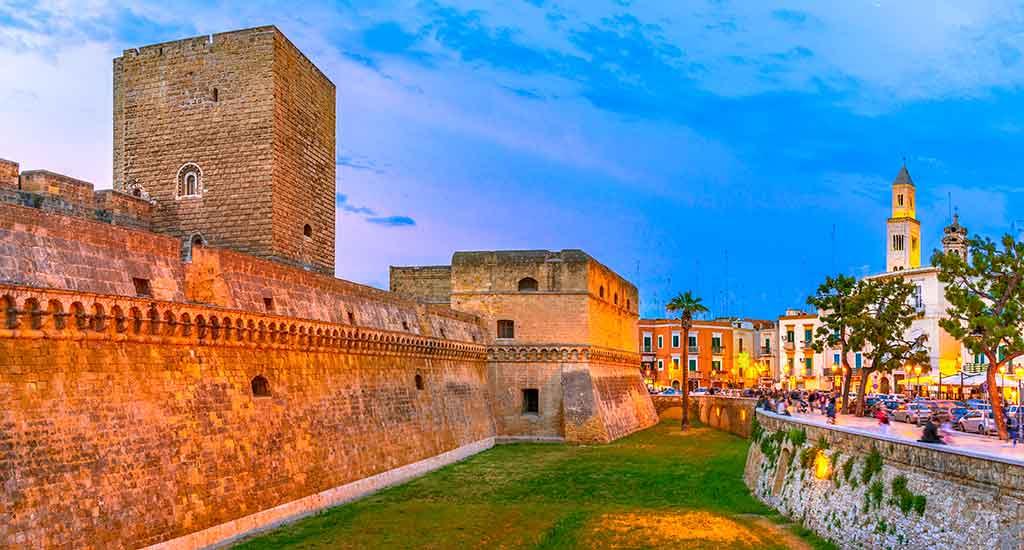 Best Italian Castles Castello-Svevo