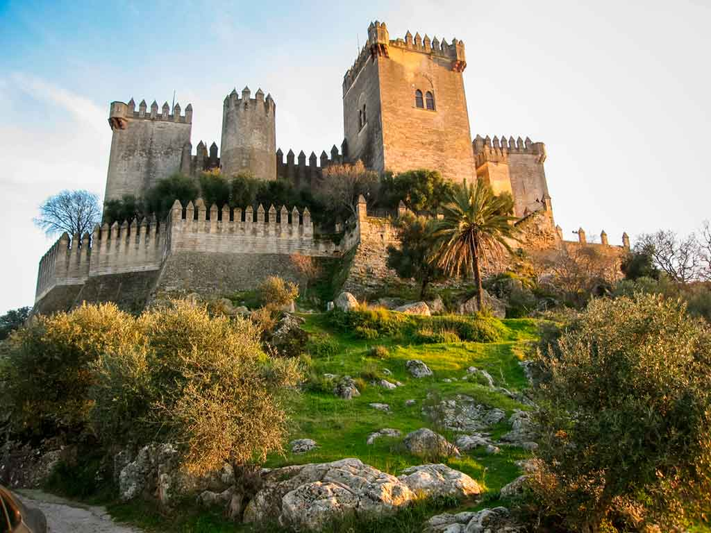 Spanish Castles Castillo-de-Almodovar-del-Rio