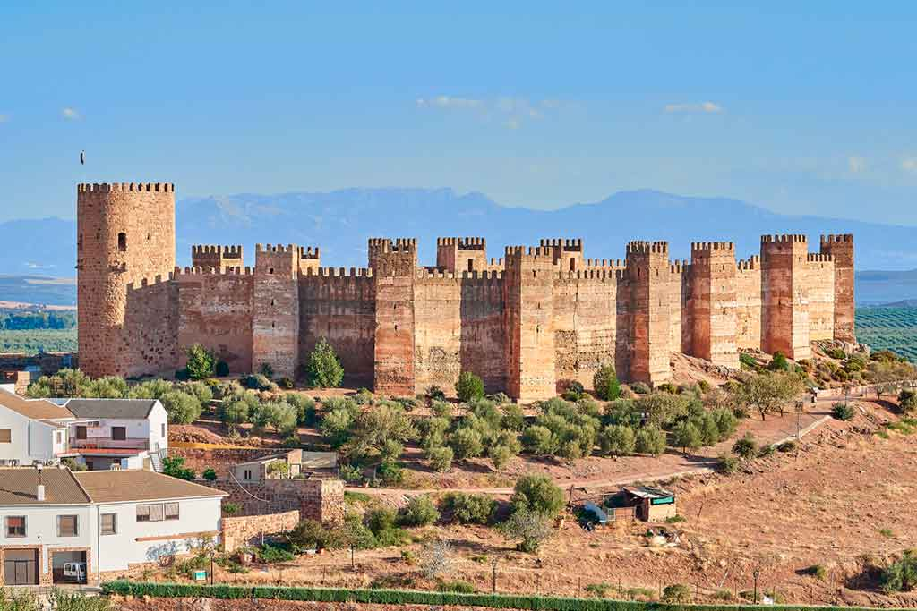 Castles in Spain Castillo-de-Burgalimar
