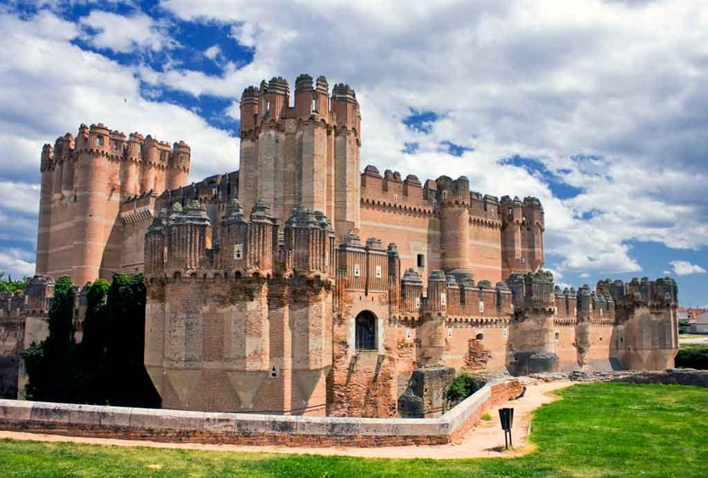 Medieval Castillo-de-Coca