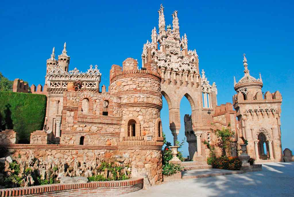 Best Castles in Spain Castillo-de-Colomares