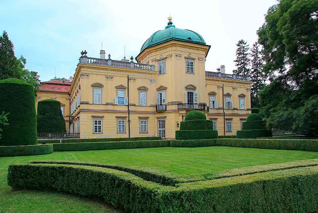 Famous Castles in Czech Buchlovice