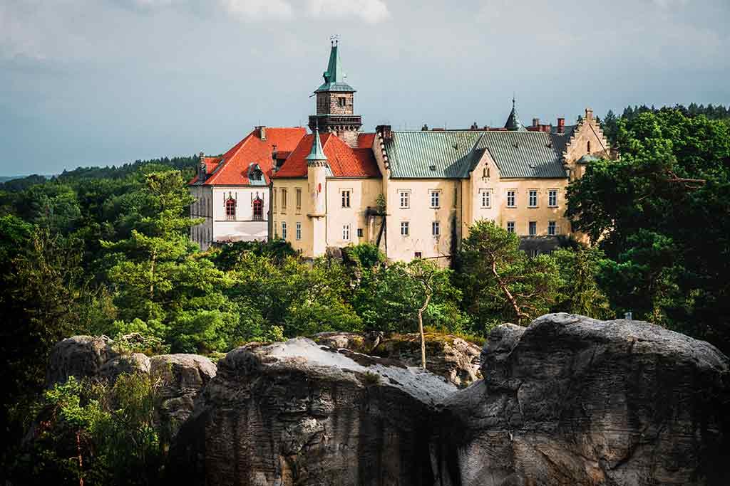 Czech Castles Hruba-Skala