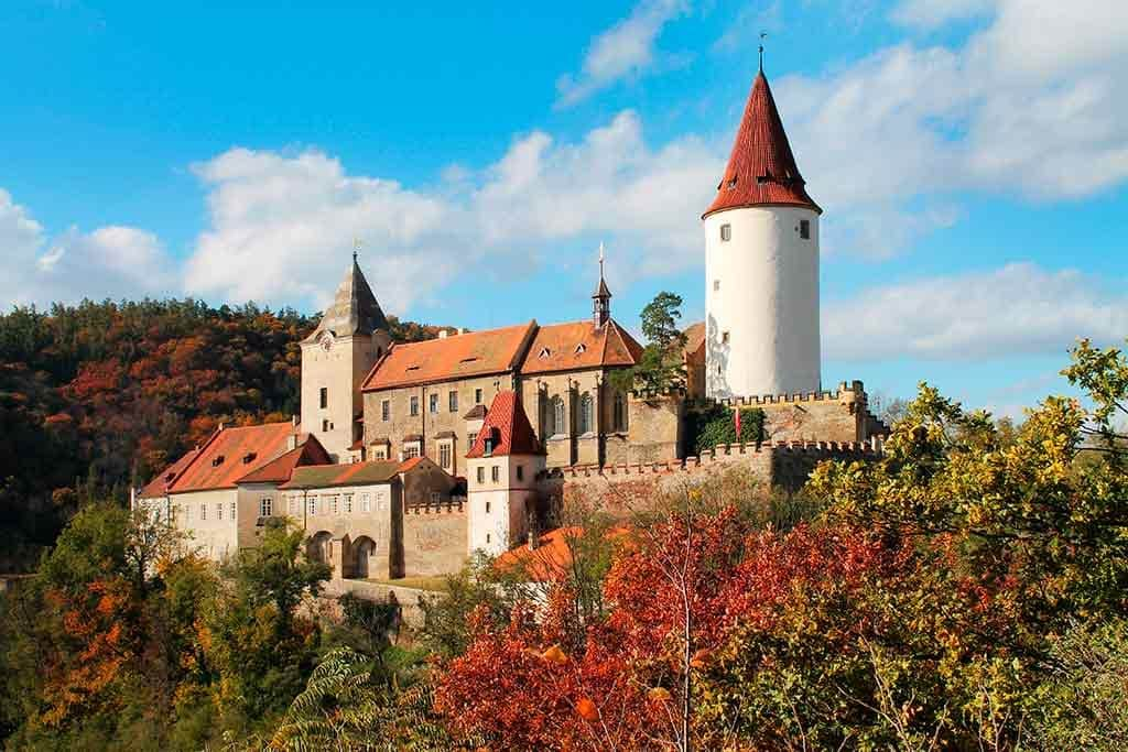 Best Castles in Czech Krivoklat Castle